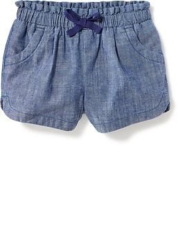 Paperbag-Waist Shorts for Baby | Old Navy