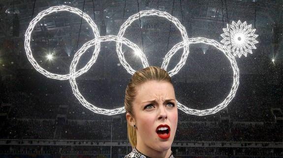 La cara de la patinadora nord-americana Ashley Wagner es converteix en el meme dels jocs Olímpics de Sochi.