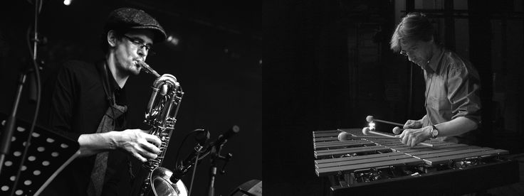 Rüdiger Scheipner: Bassklarinette, Sopran-und Tenorsaxophon, Komposition Tarik Dosdogru: Vibraphon, Komposition, Musikstudio