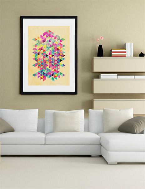 """Kick Of Freshness"", Fine Art Print by Fimbis - From $25.00 - Curioos   #fimbis #Curioos #abstract #symmetry #colorful #style #styleblog #fashion #fashionblogger #fashionblog #styleblogger #yellow #designer #purple #pink #triangles #shapes #vibrant #interior #inspirational #fblogger #collage #homedecor #homestyle #wallart #geometric #pink #interiordesign #interiors #homedecor"