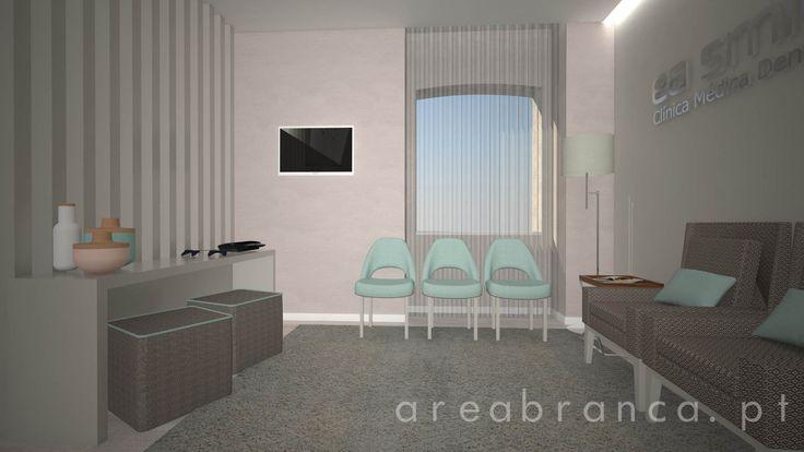 Sala de Espera | Waiting Room #arquitetura #areabranca #architecture #designinteriores #interiordesign