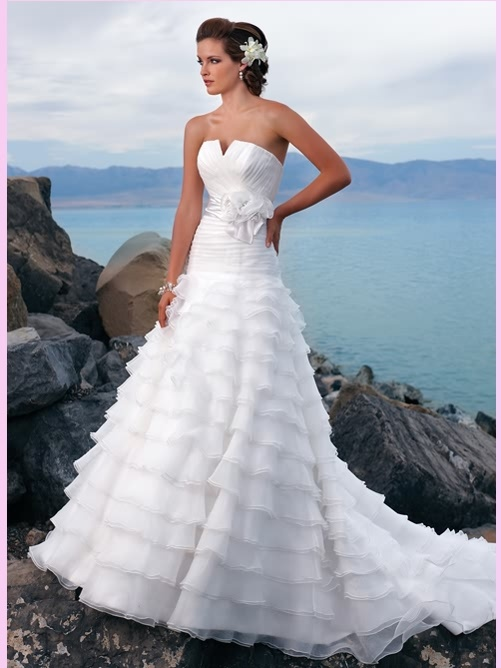 21 best wedding dress for bride images on Pinterest   Short wedding ...