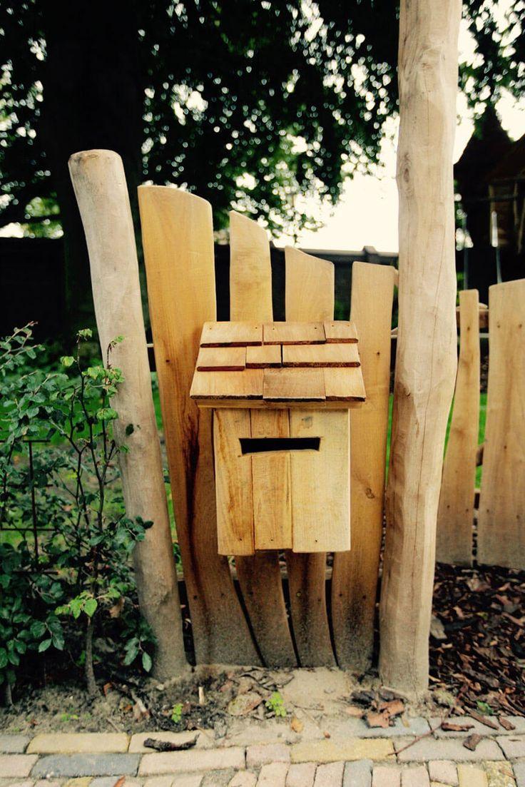 houten brievenbus speeltuin