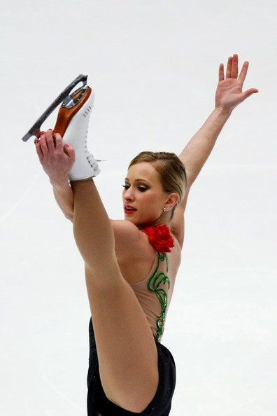 Joannie Rochette Canadian Figure Skater. Oh what an Olympic games for her ... ;*)  God bless her.