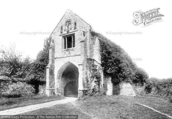 Old Cleeve, Abbey, The Gate 1890, from Francis Frith