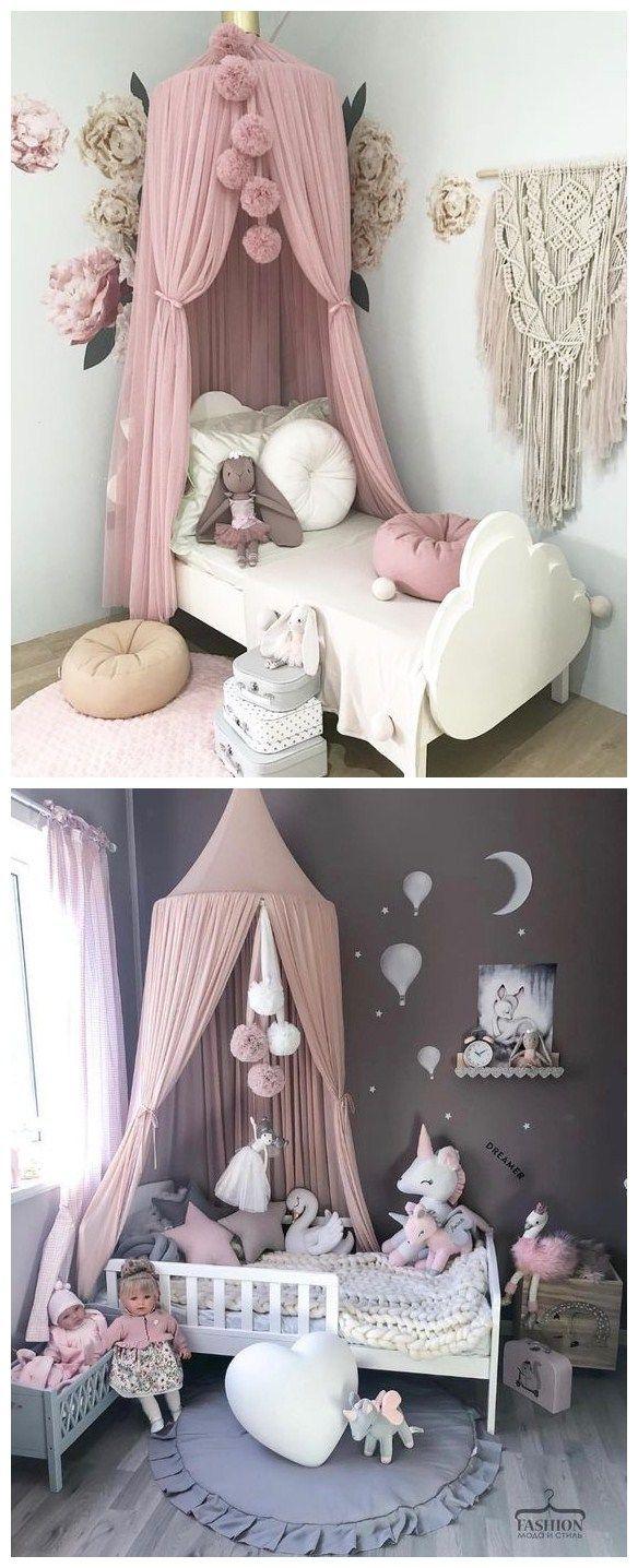 Baby Himmelbett Prinzessinnenraum Schlafzimmer Babyzimmer Spielzimmer Zuhause Madchen Kind Heim Babyzimme Prinzessinnenzimmer Zimmer Babyzimmer