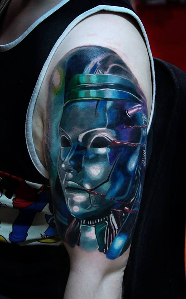 1000 ideas about robot tattoo on pinterest tattoos geek tattoos and halloween tattoo. Black Bedroom Furniture Sets. Home Design Ideas