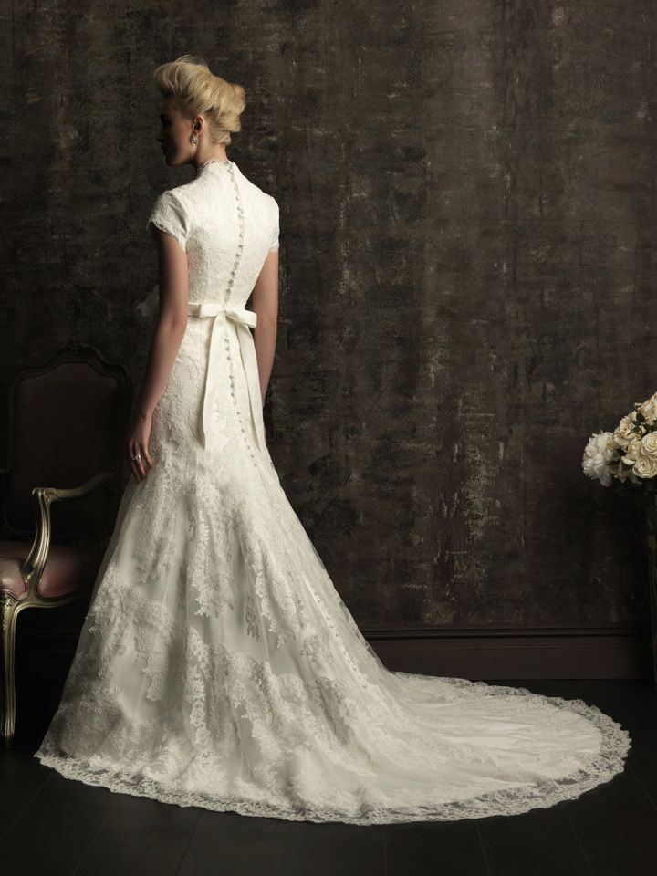 Allure Bridals Modest Aspen In Stock Totally Modest