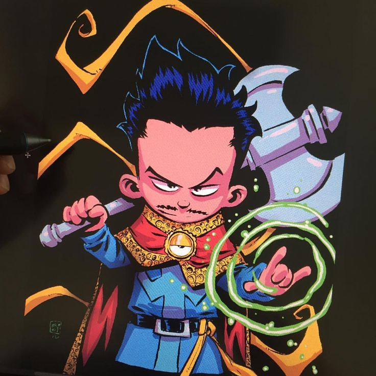 Doctor Strange by Skottie Young