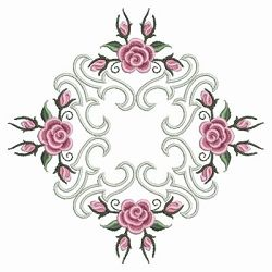 Pearl Roses Quilt 6 - 3 Sizes! | Quilt | Machine Embroidery Designs | SWAKembroidery.com Ace Points Embroidery