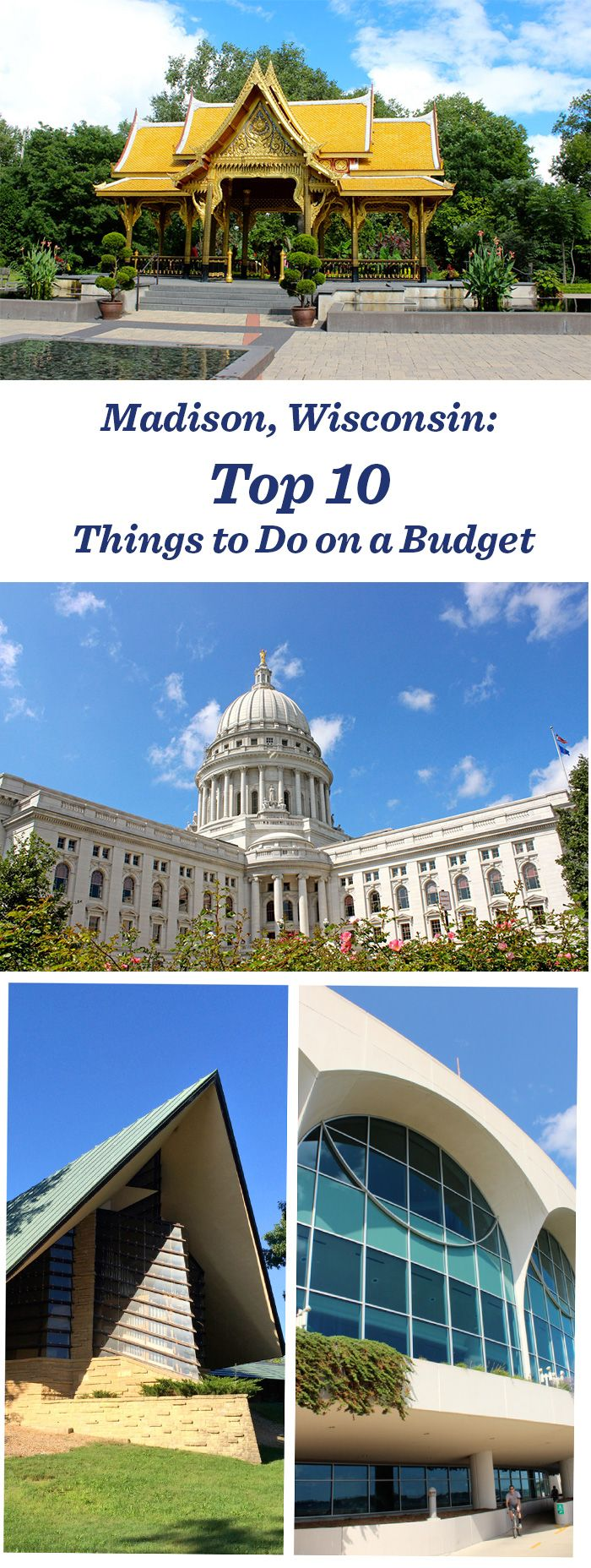 10 great things to do on a budget in Madison, Wisconsin: http://www.midwestliving.com/blog/travel/top-10-things-to-do-on-a-budget-madison/