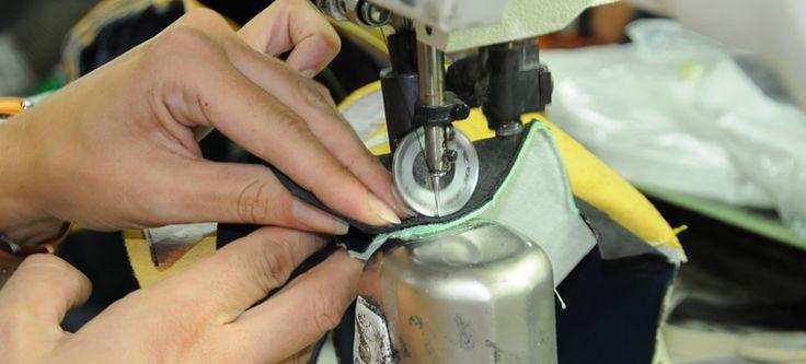 Lavorazione Sacchetto per calzature artigianali - Sacchetto Technique for handmade footwear