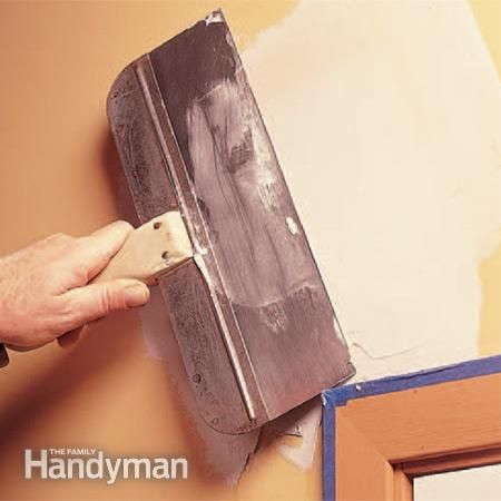 how to fix cracks on drywall