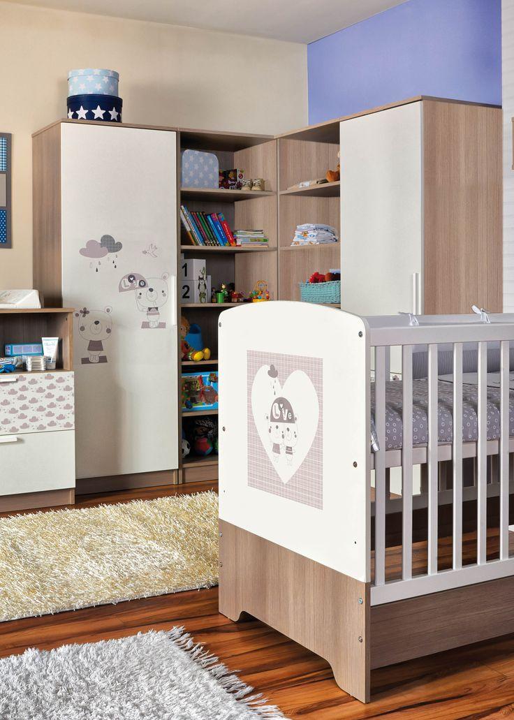 Faktum Poppi nursery with cute bear motives / Poppi babaszoba aranyos maci mintával
