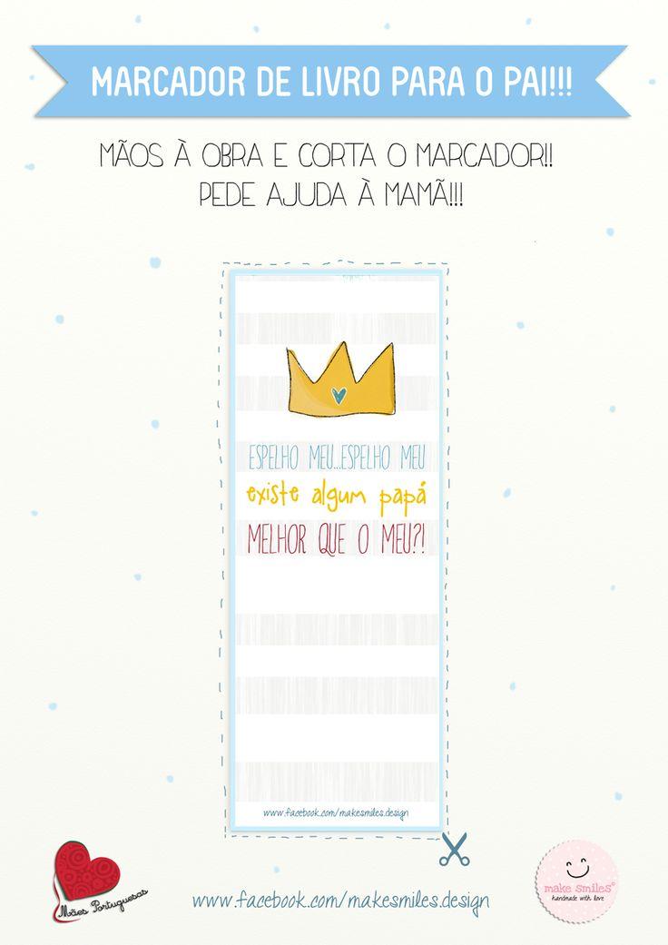 O Guia dos Miúdos: Presentes para o Dia do Pai Marcador de Livro (par...