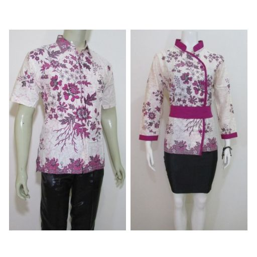 MODEL BATIK COUPLE MURAH BS204