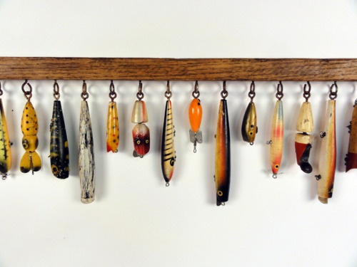 Lure decor rack