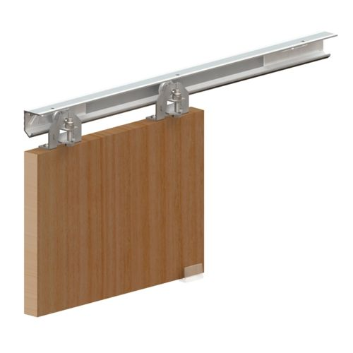 25 best ideas about systeme porte coulissante on for Raille de porte coulissante