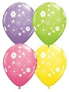 Single Source Party Supplies   11' Daisies and Dots Spring Assortment Latex Balloons Bag of 10. #Single #Source #Party #Supplies #Daisies #Dots #Spring #Assortment #Latex #Balloons