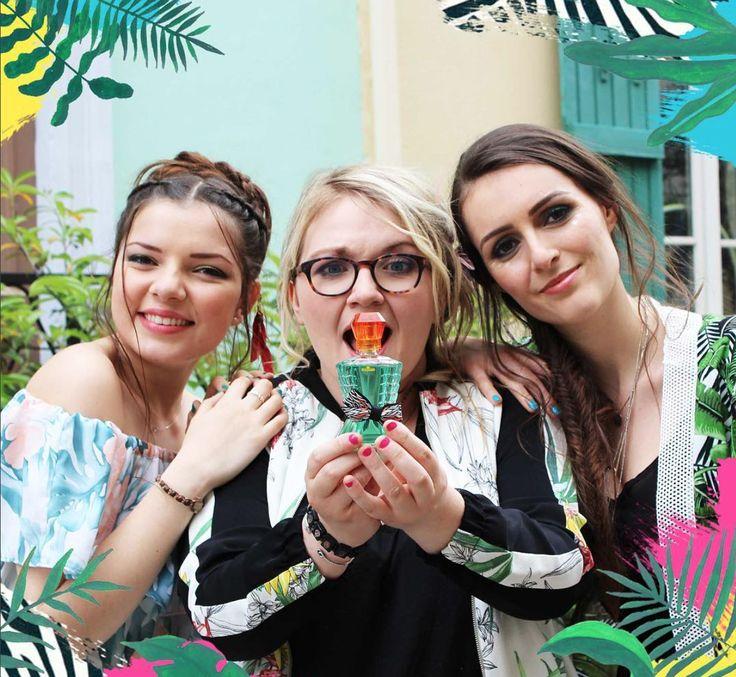 La marque Eau Jeune a choisi trois youtubeuses pour représenter son nouveau parfum Urban Tropical.