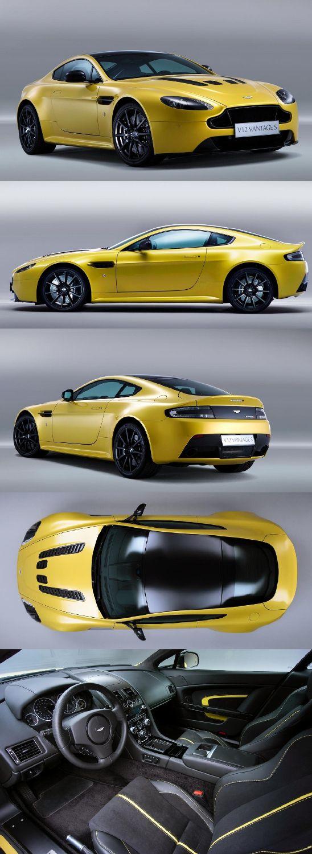 New Aston Martin V12 Vantage S