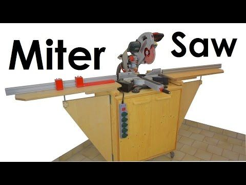 Miter Saw Station | Stop Block System (+FREE PLANS) | Dust Collection Test | Metabo KGS 254 PLUS - YouTube