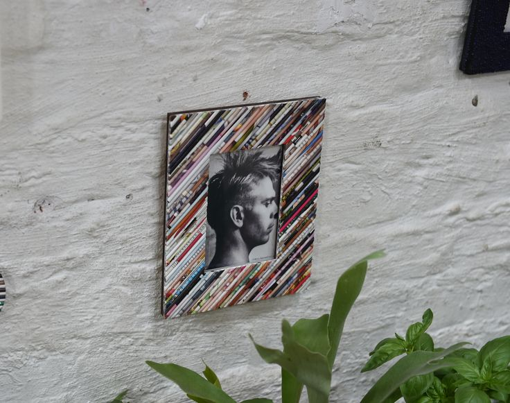 Upcycled paper made into a photo frame. available from www.iiilovelocal.com