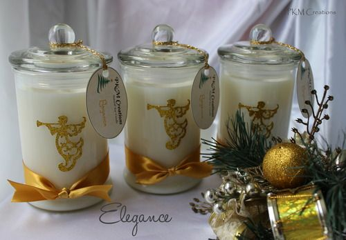Three Kings Candle Collection ~ Elegance