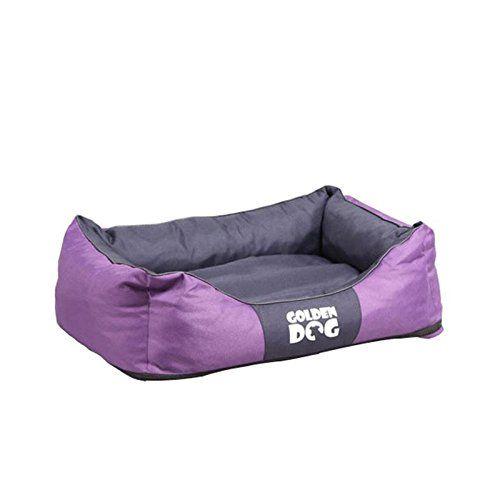 Aus der Kategorie Betten  gibt es, zum Preis von EUR 59,90  <p><b>Hundebett Kwadrat</b></p> Verwöhnen Sie Ihren besten Freund mit einem komfortabel gepolsterten rechteckigen Schlafplätzchen und er wird sich bei Ihnen puddelwohl fühlen. Der Hundeliegeplatz bewirkt dank seiner geriffelten Polsterung ein wohliges warmes Gefühl und bettet Ihren Vierbeiner in die schönsten Träume.  <p><b>Alle Vorzüge auf einen Blick:</b></p>  <p><b>Material:</b></p> Bezug aus 100% Polyester  <br /> Füllung aus…