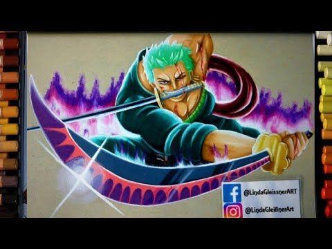 ONE PIECE: ZORO SPEED DRAWING - YouTube   Zoro, Anime, Fan art