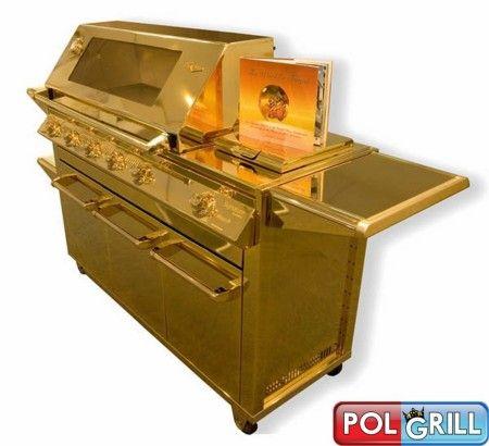 Złoty grill gazowy, grill wszystkich grilli.