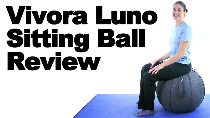 The Vivora Luno Sitting Ball is designed to fit in to any sitting environment, whether it be your living room, office, or even a kid's room. Sitting on the Luno instead of a traditional chair helps activate your core muscles so you sit up straighter and work out your core and lower back in the process. Purchase the Vivora Luno at http://www.askdoctorjo.com/Luno