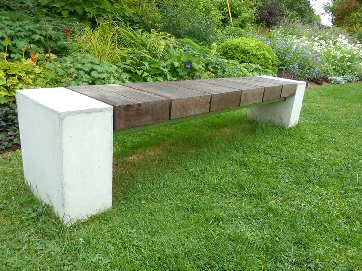 Superb Garden Benches Cement Part - 14: Modern Benches At Berkshire Botanical « Mod Remod