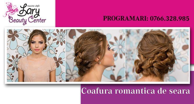 coafura romantica de seara http://www.larybeautycenter.ro/