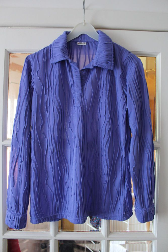 81629363ba087 LADIES LILAC COLOURED LONG SLEEVED PULL ON BLOUSE FROM DAMART SIZE 12   fashion  clothing  shoes  accessories  womensclothing  tops (ebay link)