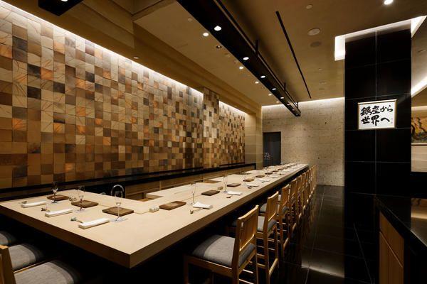 鮨 銀座おのでら NY レストラン・ダイニングバー, 寿司の内装・外装画像