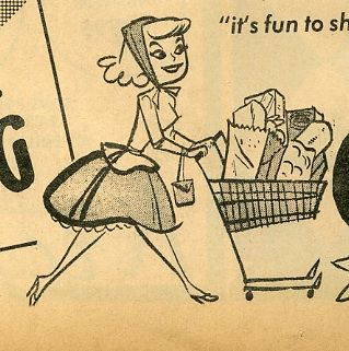 1960's Grocery Ad by grickily, via Flickr