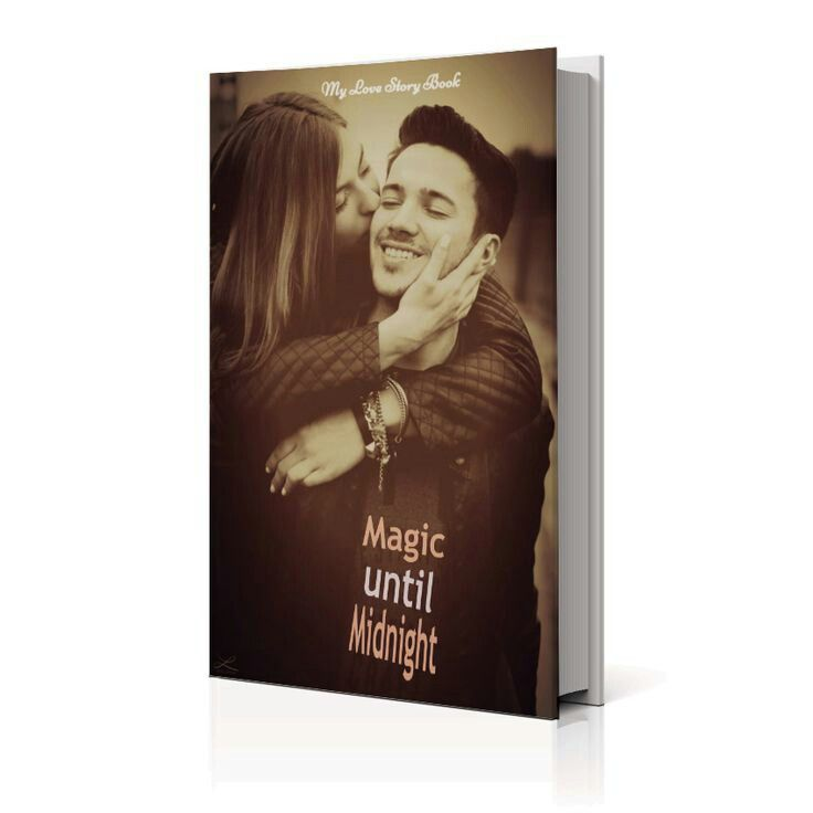 Magic Until Midnight. Inspiration for what your Love Story Book could look like. Let us write you Love Story Book