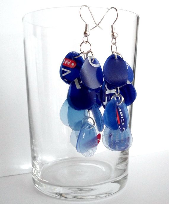 38 best images about jewelry plastic on pinterest for Jewelry made from plastic bottles