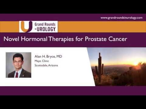 Novel Hormonal Therapies for Prostate Cancer - WATCH THE VIDEO.     Dr. Alan H. Bryce, MD, discusses the newest advances and research in prostate cancer treatments that target androgen receptors, such as BET inhibitors and CYP17 inhibitors, as opposed to chemotherapeutic and radiopharmaceutical approaches. Video credits to the YouTube channel owner