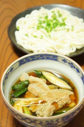 簡単でうまい!肉汁つけうどん。 by オマールえび子 [クックパッド ...