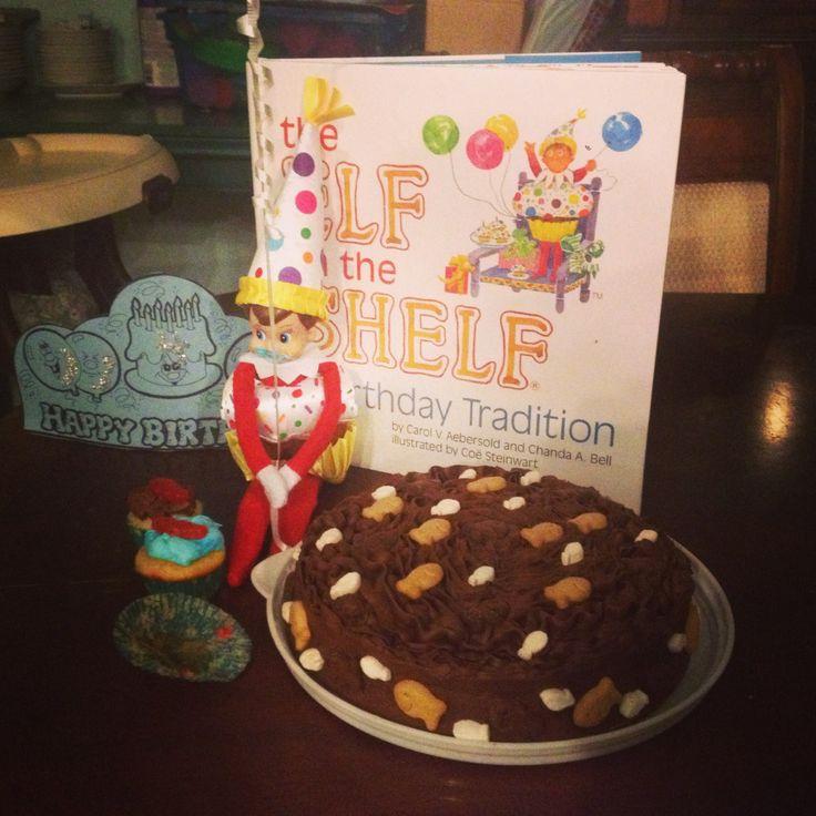Elf On The Shelf - Happy Birthday!