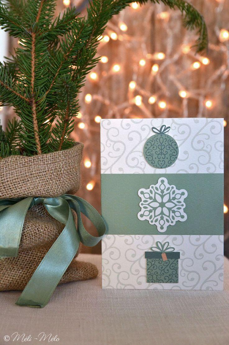 Biglietto di auguri natalizio - Carte de voeux pour Noël - Christmas card by Méli-Mélo | Graphic Design - Visual: Cinzia Guido - Ph: Clelia Celentano