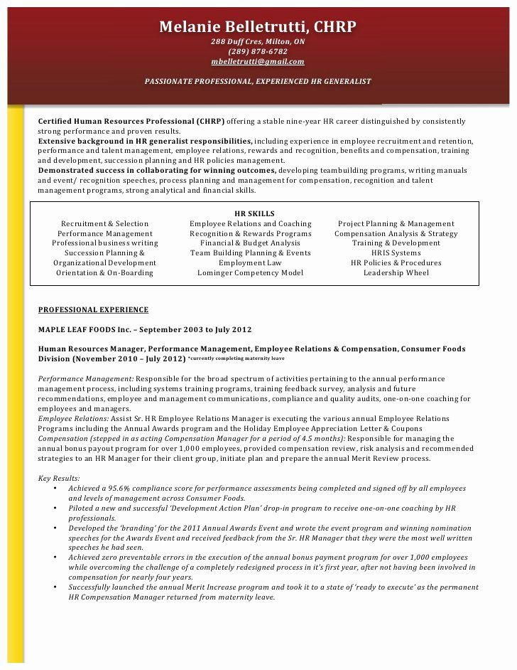 Human Resource Manager Resume Examples Beautiful Functional Resume Format For Hr Manager In 2020 Human Resources Resume Job Resume Samples Hr Resume