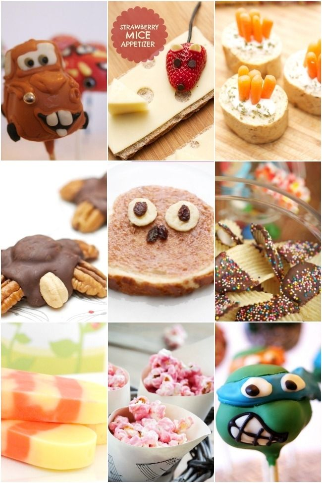 Kids' Party Food Ideas - Spaceships and Laser Beams