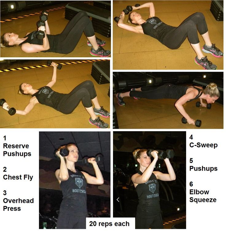 Keep your breasts nice and perky with this pec workout Add arm circles and bicep curls for a great arm workout too