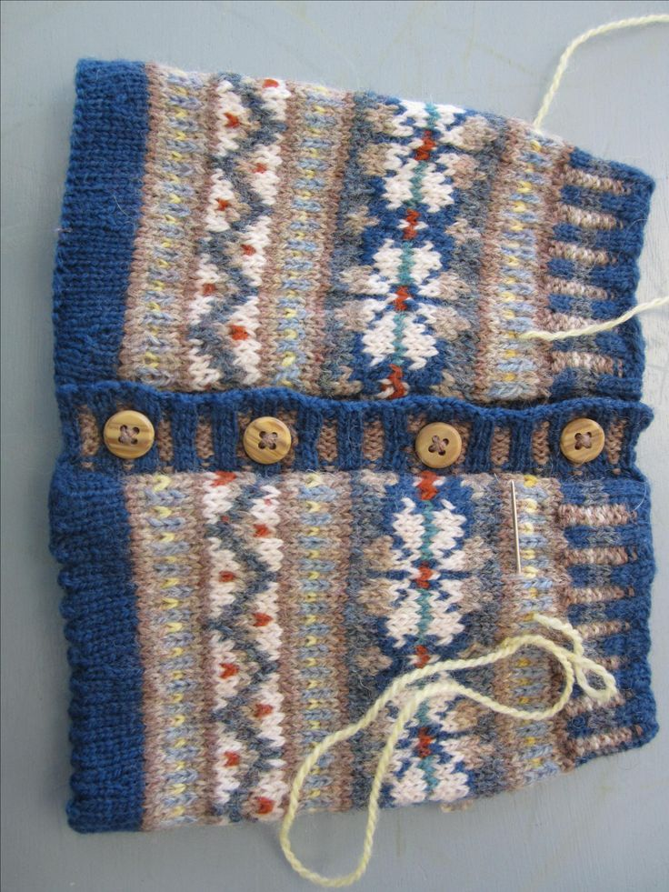 201 best Fair Isle Knitting images on Pinterest | Stricken, Book ...