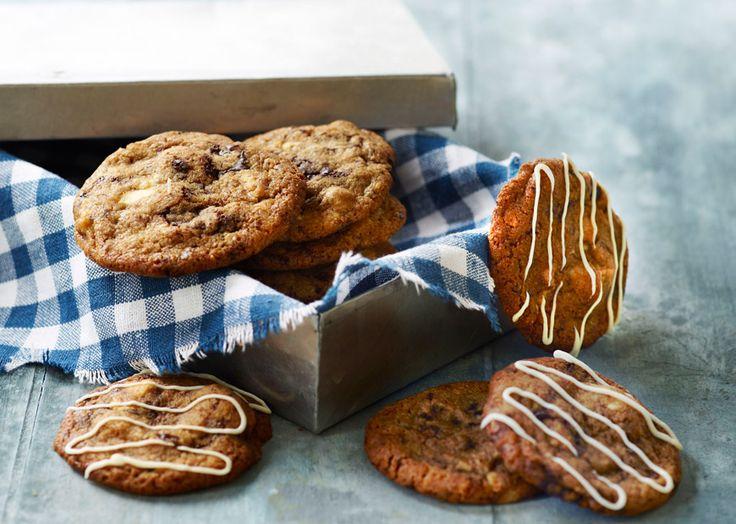 Cookies opskrift med marcipan og chokolade - se ODENSEs opskrift - Odense Marcipan