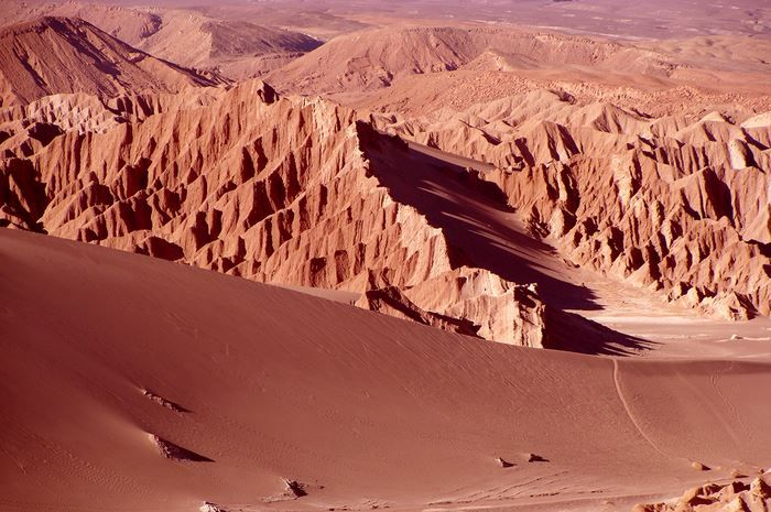 San Pedro de Atacama - Valle de la Muerte - Chile
