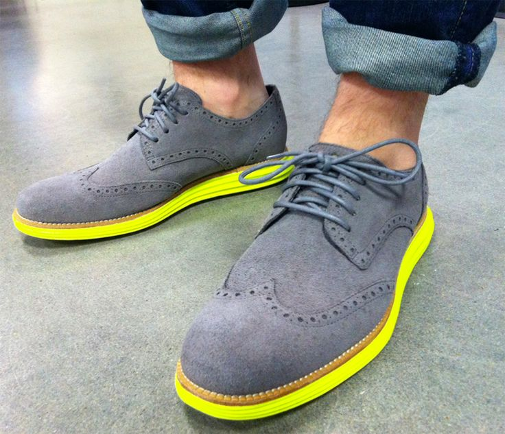 Dress shoes colored soles
